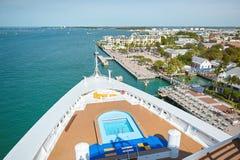 Cityscape av den Key West staden Fotografering för Bildbyråer