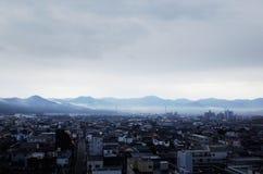 Cityscape av den Yamaguchi staden royaltyfria foton