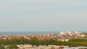 Cityscape av Dunkirk arkivfilmer