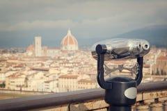 Cityscape av Florence Fotografering för Bildbyråer