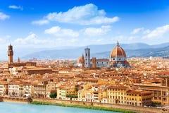 Cityscape av Florence Royaltyfria Bilder