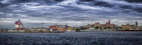 Cityscape av Göteborg royaltyfria bilder