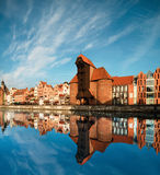 Cityscape av Gdansk Arkivfoton