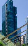 Cityscape av hamn för Vancouver, British Columbia, Kanada —kol Arkivfoton
