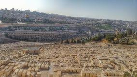 Cityscape av jesuralem Arkivbild