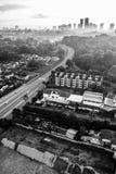 Cityscape av Johor Bahru Royaltyfri Foto