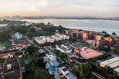 Cityscape av Johor Bahru Royaltyfri Fotografi