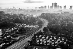 Cityscape av Johor Bahru Royaltyfri Bild