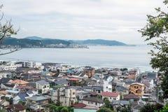 Cityscape av Kamakura, Japan Arkivbilder