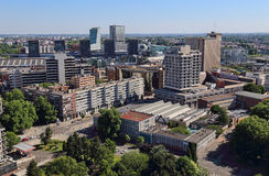 Cityscape av Lille, Frankrike Royaltyfria Foton