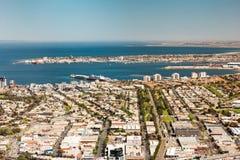 Cityscape av Melbourne, Australien Royaltyfri Bild