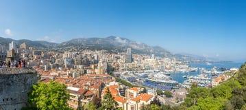 Cityscape av Monaco, Monaco Royaltyfri Bild