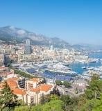 Cityscape av Monaco, Monaco Royaltyfria Foton