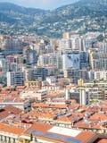 Cityscape av Monaco, Monaco Fotografering för Bildbyråer