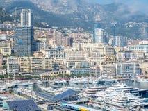 Cityscape av Monaco, Monaco Royaltyfria Bilder