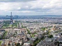 Cityscape av Paris Fotografering för Bildbyråer