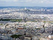 Cityscape av Paris Royaltyfria Foton