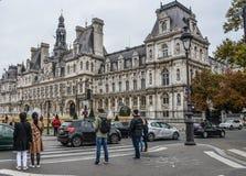 Cityscape av Paris, Frankrike royaltyfri foto