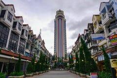 Cityscape av Phuket, Thailand arkivbild