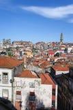 Cityscape av Porto i Portugal Royaltyfri Foto