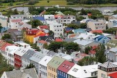 Cityscape av Reykjavik Royaltyfri Bild