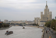 Cityscape av rysshuvudstadMoskva Royaltyfri Bild