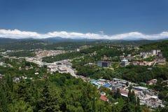 Cityscape av Sochi Fotografering för Bildbyråer