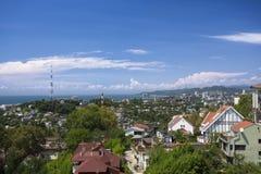 Cityscape av Sochi Arkivfoton