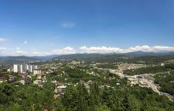 Cityscape av Sochi Arkivbilder