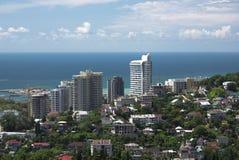 Cityscape av Sochi Royaltyfri Bild