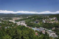Cityscape av Sochi Arkivbild
