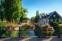 Cityscape av Strasbourg fotografering för bildbyråer