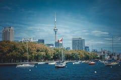 Cityscape av Toronto i Kanada Royaltyfri Bild