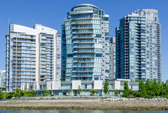 "Cityscape av Vancouver, British Columbia, Kanada †""False Creek Royaltyfria Foton"