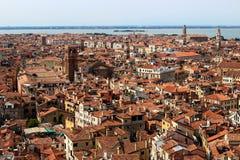 Cityscape av Venedig, Italien Royaltyfri Foto