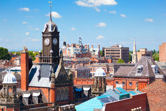 Cityscape av York, North Yorkshire, England Arkivbild