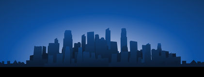 Cityscape background Royalty Free Stock Photography