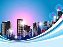 Cityscape Background Stock Photography
