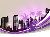 Cityscape Background Royalty Free Stock Photo