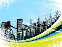 Cityscape Background Stock Images