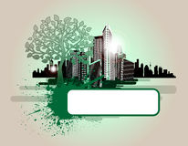 Cityscape Background Royalty Free Stock Images