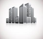 Cityscape background Stock Image