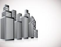 Cityscape background Stock Photos