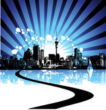 Cityscape background, urban Stock Photo