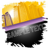 Cityscape background vector Stock Photography