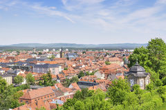 Cityscape of Bamberg Royalty Free Stock Photos