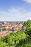 Cityscape of Bamberg Royalty Free Stock Image