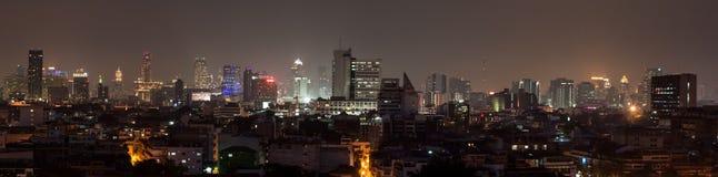 Cityscape Bangkok Arkivbild