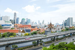 Cityscape of Bangkok Stock Photo