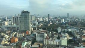 Cityscape of Bangkok stock video